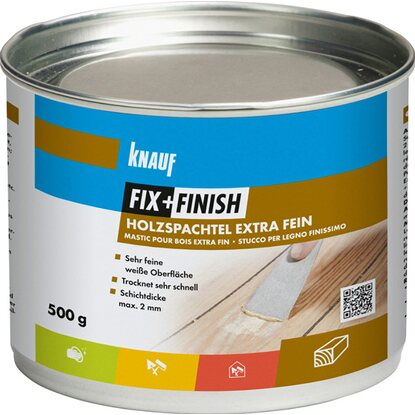 Knauf Fix + Finish Holzspachtel Extra Fein 500 g