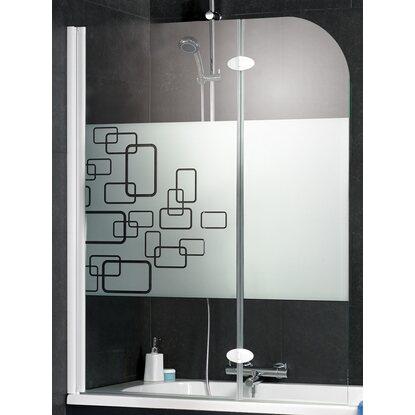 interpromo badewannenaufsatz 2 teilig chromoptik softcube. Black Bedroom Furniture Sets. Home Design Ideas