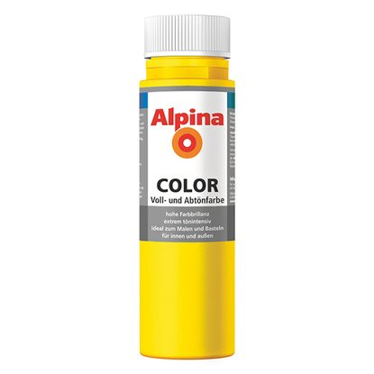 Alpina Color Sunny Yellow seidenmatt 250 ml