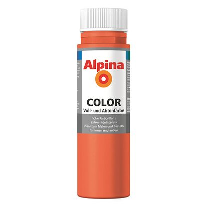 Alpina Color Happy Orange seidenmatt 250 ml