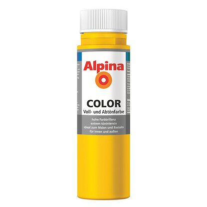 Alpina Color Lucky Yellow seidenmatt 250 ml