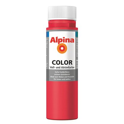 Alpina Color Fire Red seidenmatt 250 ml