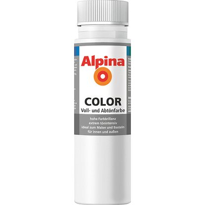 Alpina Color Snow White seidenmatt 250 ml