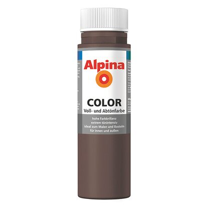 Alpina Color Choco Brown seidenmatt 250 ml