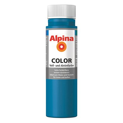 Alpina Color Cool Blue seidenmatt 250 ml