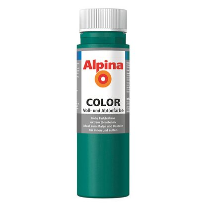 Alpina Color Deep Green seidenmatt 250 ml
