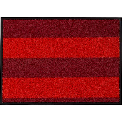 sch ner wohnen sauberlaufmatte rot 60 x 180 cm kaufen bei obi