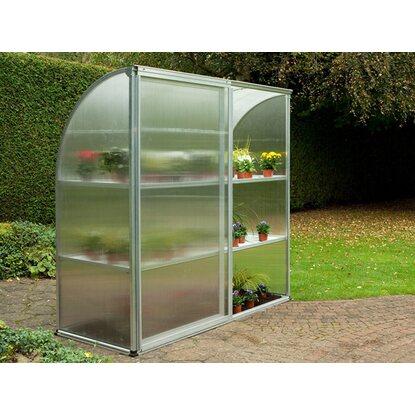 kgt tomaten gew chshaus edelwei aluminium 1 47 m kaufen bei obi. Black Bedroom Furniture Sets. Home Design Ideas