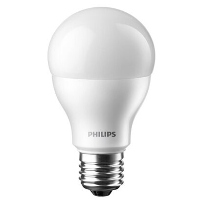 Philips LED-Lampe EEK: A+ Glühlampenform E27 / 9,5 W (806 lm) Warmweiß