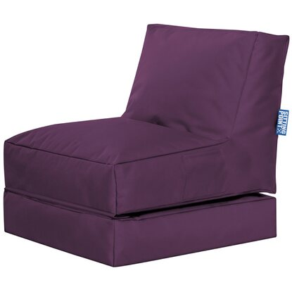 Sitting Point Sitzsack Twist  Scuba Aubergine
