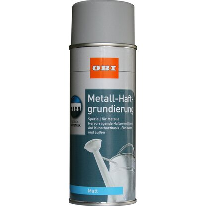 OBI Metall-Haftgrundierung Spray Grau matt 400 ml