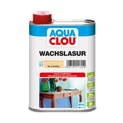 Aqua Clou Wachslasur Transparent 250 ml