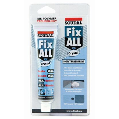Soudal Fix All Kraftkleber Crystal/Kristallklar 80 g