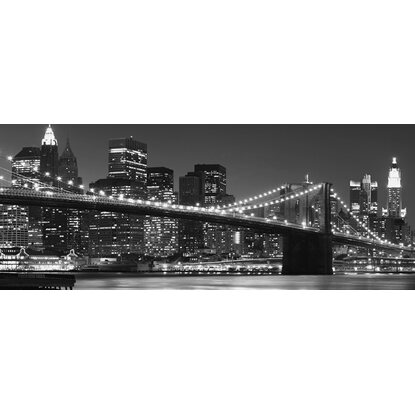 Eurographics Deco Glass New York skyline 125 cm x 50 cm