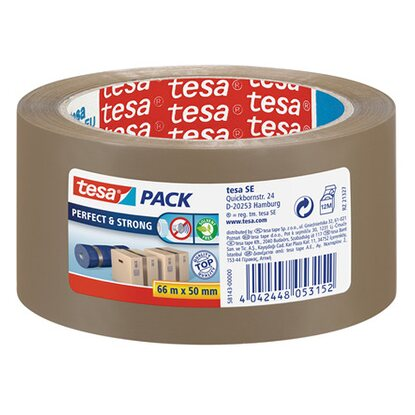 Tesa Pack Perfect & Strong Braun 66 m x 50 mm
