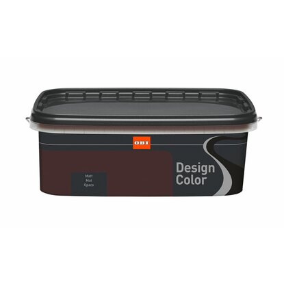 OBI Design Color Chocolate matt 2,5 l