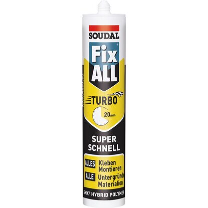Soudal Fix All Turbo Weiß 430 g