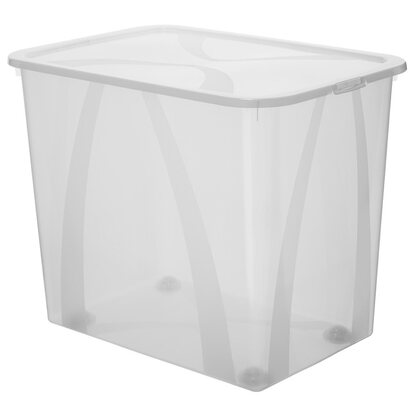 Rotho Clear Box Arco Mega Transparent 70 l