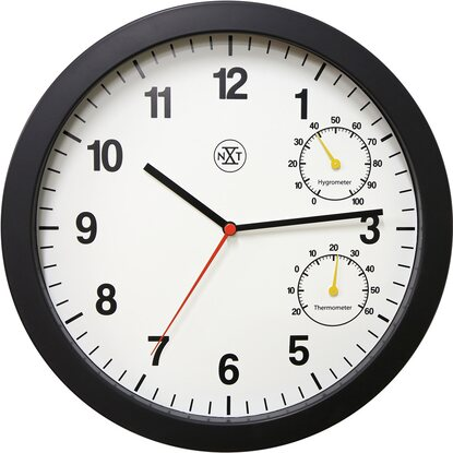Wanduhr Simple White Ø 25 cm