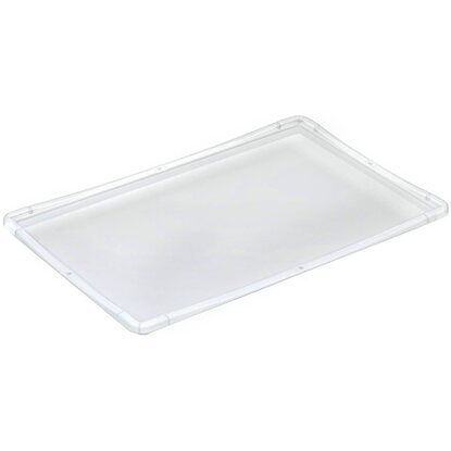 OBI Eurobox-System Tauro Deckel für Box 40 x 30 cm Transparent