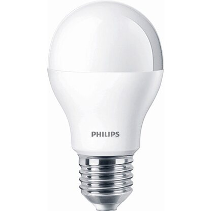 Philips LED-Lampe EEK: A Glühlampenform E27 / 9,5 W (806 lm) Warmweiß 2er-Pack