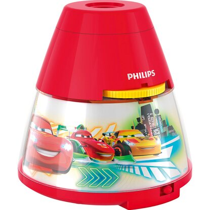 Philips LED-Kinderleuchte Projektor Disney Cars
