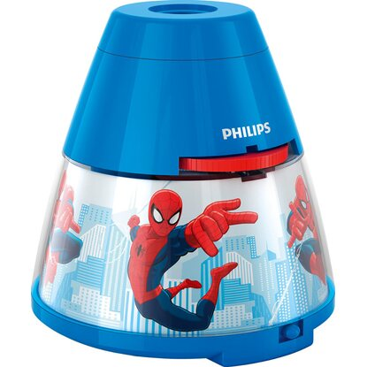 Philips LED-Projektor-Tischleuchte Disney Spiderman