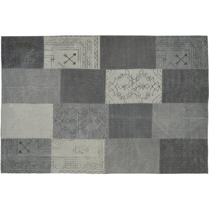 Kayoom Teppich Lyrical 210 Multicolor-Grau 160 cm x 230 cm
