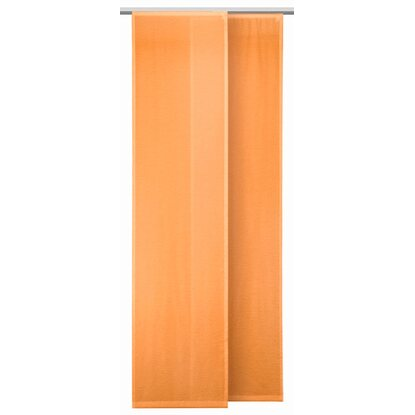 Schiebevorhang Conny Orange 245 cm x 60 cm