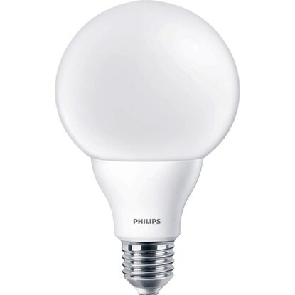 Philips LED-Leuchtmittel EEK: A+ Globeform E27 / 9,5 W (806 lm), Warmweiß