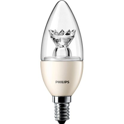 Philips LED-Lampe Kerzenform E14 / 3 W (250 lm), Warmweiß EEK: A+