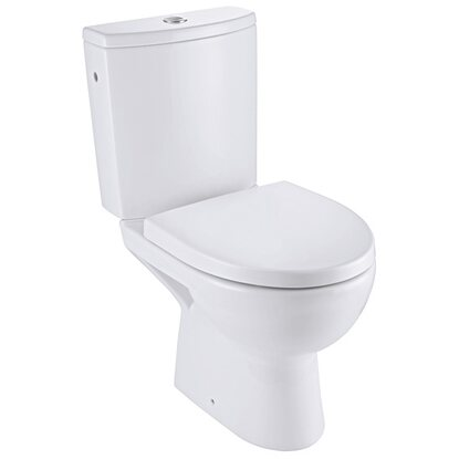 Design Line Parva spülrandloses Stand-WC-Set Clean On 3-teilig