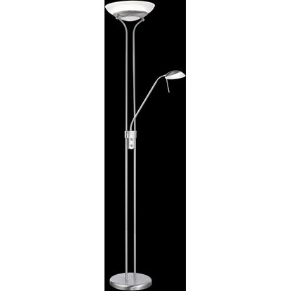 Fischer & Honsel LED-Stehlampe Pool 25 W Nickelfarben warmweiß  EEK: A++ - A