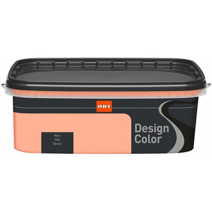 OBI Design Color Salmon matt 2,5 l