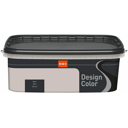 OBI Design Color Grey matt 2,5 l