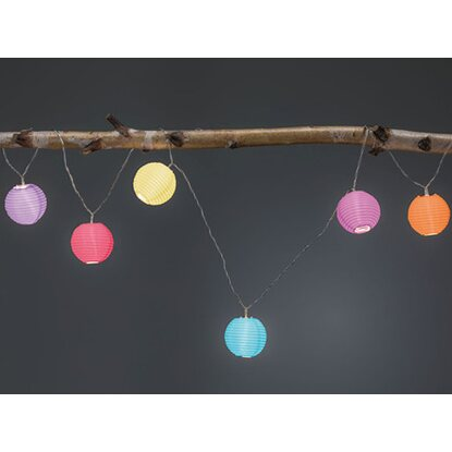 Paulmann Outdoor Lichterkette Mobile Lampion Multicolor IP44