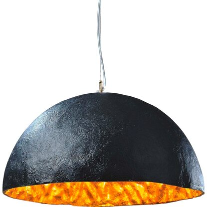 Best of home Pendelleuchte EEK: E-A++ Schwarz-Gold
