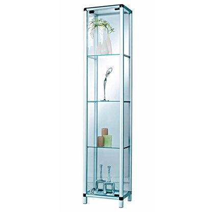 Best of home Glas-Vitrine 175 cm x 36 cm x 32 cm