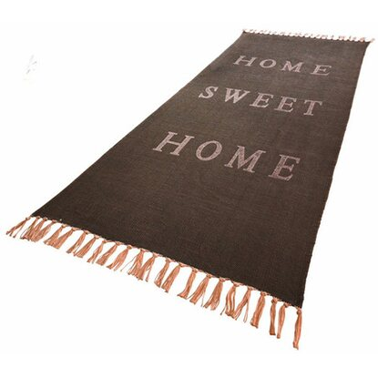 Best of home Teppich Home sweet Home 70 cm x 200 cm