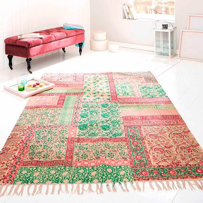 Best of home Teppich Patchwork 170 cm x 240 cm