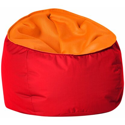 Sitting Point Sitzsack Globe Mesh 280 l Orange