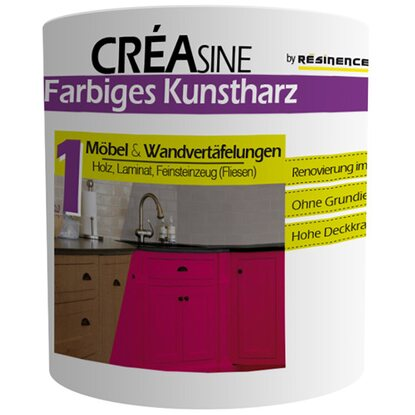 Resinence Creasine Farbe Mondgrau 500 ml