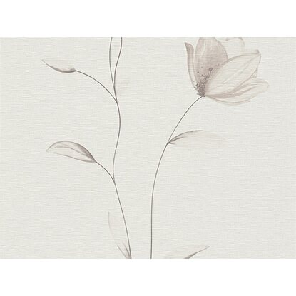 A.S. Creation Vliestapete Fioretto 2 Blume Beige