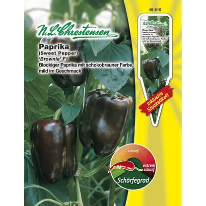 "N.L. Chrestensen Paprika ""Brownie F1"""