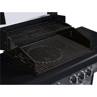 OBI Gasgrill North Battleford 3-Brenner mit Seitenkocher