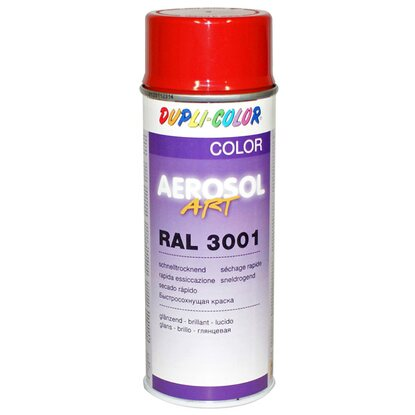 Dupli-Color Lackspray Aerosol-Art RAL 3001 Signalrot 400 ml