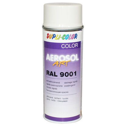 Dupli-Color Lackspray Aerosol-Art RAL 9001 Cremeweiß 400 ml