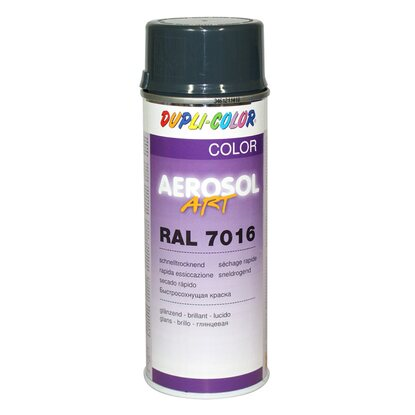Dupli-Color Lackspray Aerosol-Art RAL 7016 Anthrazitgrau 400 ml