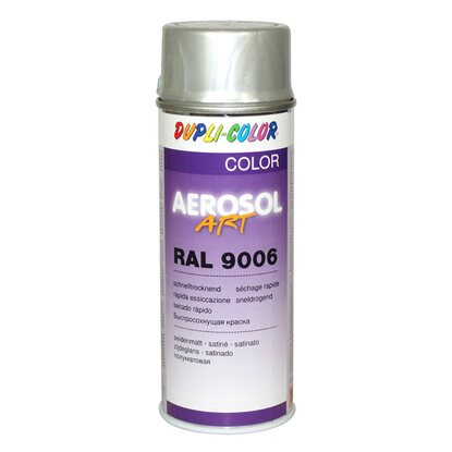 Dupli-Color Lackspray Aerosol-Art RAL 9006 Weißaluminium 400 ml