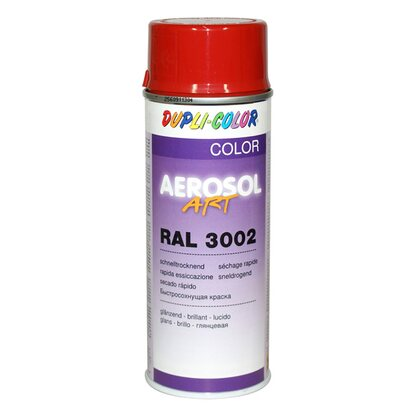 Dupli-Color Lackspray Aerosol-Art RAL 3002 Karminrot 400 ml